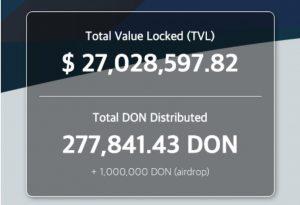 IOST-Inhaber erhalten Airdrop von Donnie Finance
