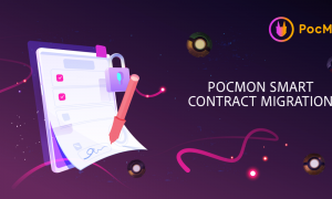 PocMons neue Smart Contract Migration und Vorverkauf