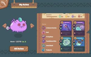 Axie Infinity 2 Charaktere