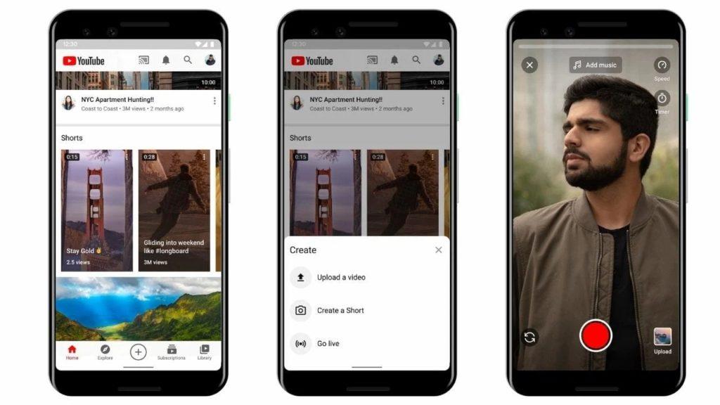 YouTube Shorts 2-Videos erstellen