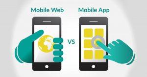 Sitio web vs aplicación móvil